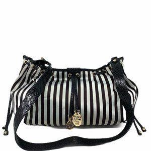 Henri Bendel Centennial Stripe Convertible Bag